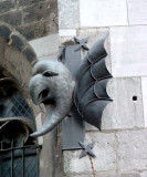 Sculpture on Side of Aachen Cathedral