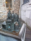 Bronze Model of Aachen Cathedral