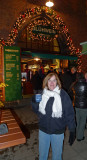 Drinking Gluhwein at the Cologne Harbor Christmas Market