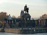 The 'Deutsches Eck' (German Corner) in Koblenz