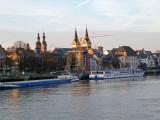 Docking in Koblenz, Germany