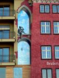Mural on Building in Koblenz