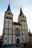St. Florin's Church (12th Century) in Koblenz. Florin's Church (1688) in Koblenz