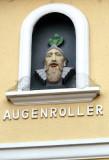 'Eye Roller' on Building in Koblenz, Germany