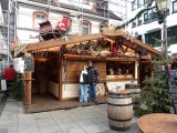 Waiting for Gluhwein Stand to Open in Koblenz