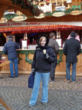 Drinking 'Egg Punch' at Koblenz Christmas Market