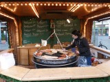 Cooking Wursts at Christmas Market, Koblenz