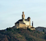 Marksburg Castle was Built around 1117 AD and has Never Been Destroyed