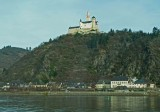 Marksburg Castle Sits Above the Town of Braubach on the Rhine