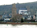 Tower and St. Martin's Church in Oberwesel Both date to the 13th Century