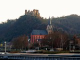 Church of Our Lady (14th Century) & Schonberg Castle (13th Century) in Oberwesel