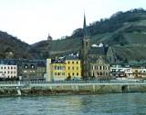 Town of Lorch with 13th Centrury Parish Church