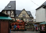 Christmas Market in Rudesheim, Germany