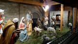 Nativity at the Mainz Christmas Market