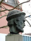 Bust of Johannes Gensfleisch zur Laden zum Gutenberg (born in Mainz)