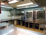 Galley Prepares Food for 180 People