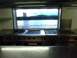Grill Cook's View from Galley