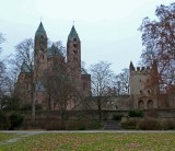 Approaching Speyer Cathedral from the Rhine River