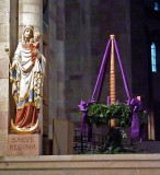 Advent Wreath in Speyer Cathedral