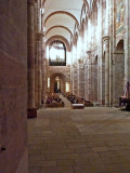 Inside Speyer Cathedral (started in 1030 AD)