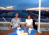 Aboard the MS Nautica 2012
