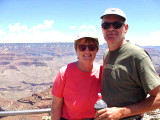Elaine & Tom at the Grand Canyon