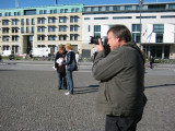 Shooting at the Brandenburg Gate