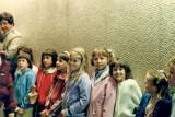 Erica's Girl Scout troop in 1984