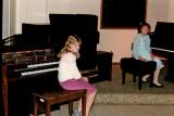 Erica's piano recital