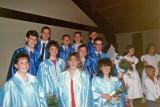 Some of Wayne's 8th Grade graduation class friends.