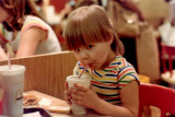 A little sip at Mickey D's.