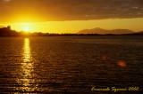 Akureyri: midnight sun