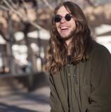 Happy Man SanteFe, New Mexico - January, 2012