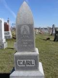 Earl, Mary J., Eaton & Martin; Section 4 Row 7