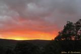 Farndale sunset