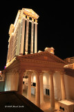 Night shot of Caesars Palace 3592