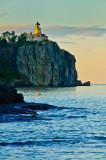 Splitrock Lighthouse, last light