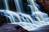 Gooseberry Falls, close