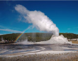 Geysers of Yellowstone Nationl Park