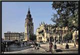 A square in Krakow,Poland...