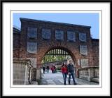 A closer view of the Castle gateway...