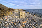 A rocky beach at Narraganset