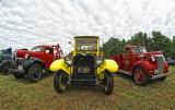 Antique  truck show