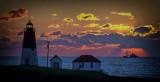 Sunrise on Narragansett bay