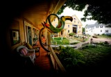 Antique house & barn Wolfeboro NH.