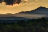 Chocorua Mountain sunset.