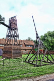 Siege tower and perriere