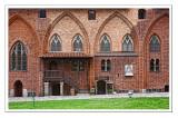 Courtyard of Malbork Castle - Gothic Restaurant