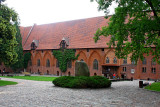 Courtyard of Malbork Castle