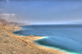 Judea Desert and The Dead Sea (HDR)